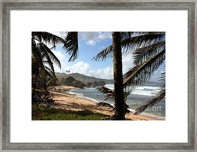 Barbados - Bathsheba Framed Print