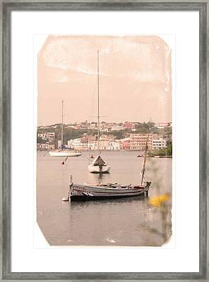 Framed Print featuring the photograph Barbara by Pedro Cardona