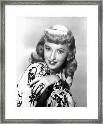 Barbara Stanwyck, Paramount Publicity Framed Print
