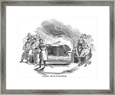 Barbecue, 1844 Framed Print by Granger