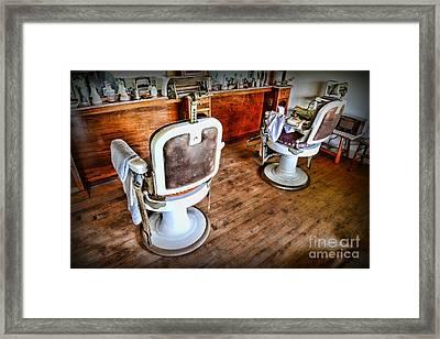 Barber - The Barber Shop 2 Framed Print by Paul Ward