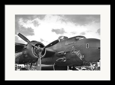 North American B-25h Mitchell Framed Prints