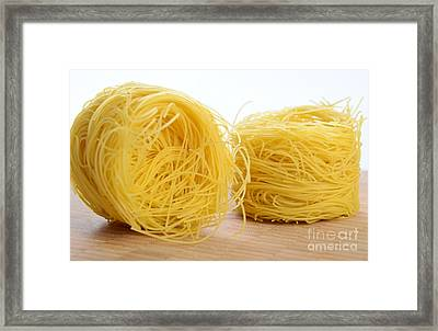 Barbina Pasta Framed Print by Photo Researchers, Inc.