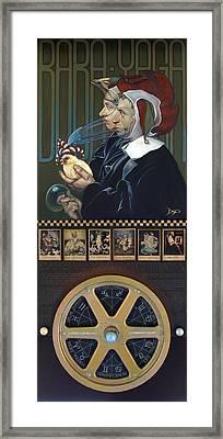 Barbra Yagavitchnaya Wip Framed Print by Patrick Anthony Pierson