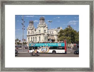 Barcelona Framed Print by Matthias Hauser