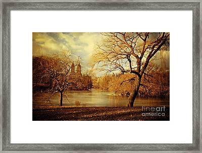 Bare Beauty In Central Park Framed Print