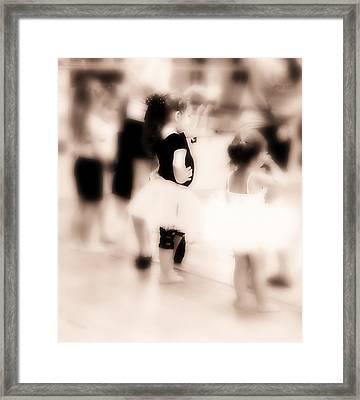 Barefoot Dancers Framed Print by Susan Bordelon