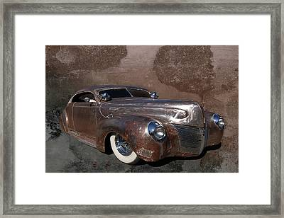Barely 39 Framed Print