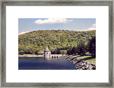 Barkhamsted Reservoir Framed Print by HD Connelly