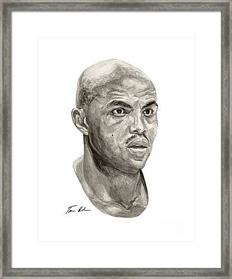 Barkley Framed Print by Tamir Barkan