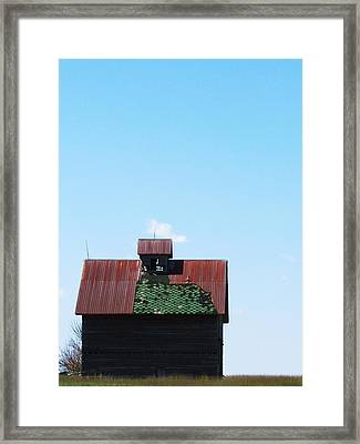 Barn-12 Framed Print by Todd Sherlock