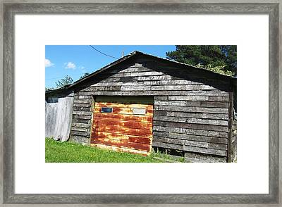 Barn-13 Framed Print by Todd Sherlock
