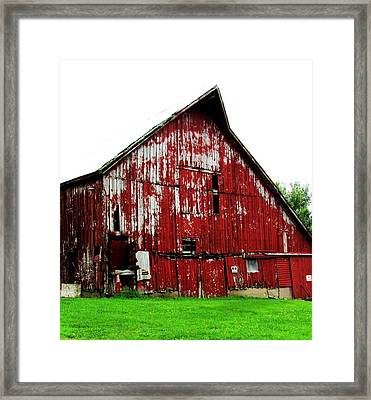 Barn-26 Framed Print by Todd Sherlock