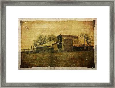 Barn 3 Framed Print by Toni Hopper