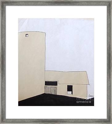 Barn 5 Framed Print by Rod Ismay