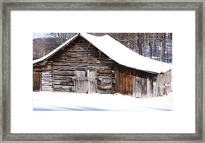 Barn Along Coon Creek Road Framed Print