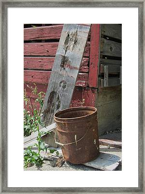 Barn And Barrel Framed Print by Todd Sherlock