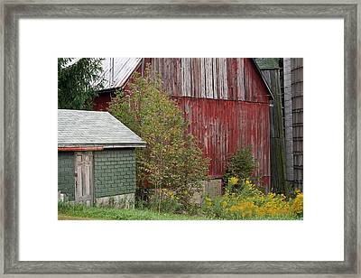 Barn Buildings Framed Print
