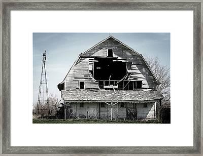 Barn Bustin Framed Print