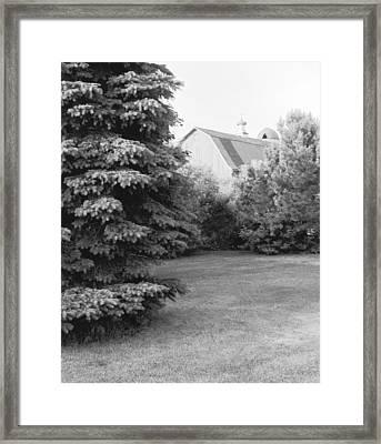 Barn Finial Framed Print by Jan W Faul
