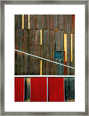 Barn Graphics Framed Print