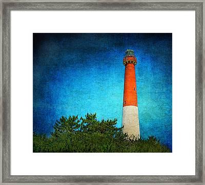 Barnegat Light Framed Print by Pat Abbott