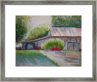 Barns Last Days Framed Print by Terri Maddin-Miller