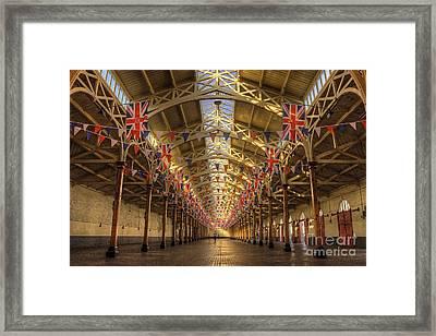 Barnstaple Pannier Market Framed Print by Rob Hawkins