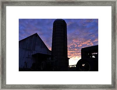 Barnyard Sunrise IIi Framed Print