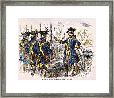 Baron Steuben, 1777 Framed Print