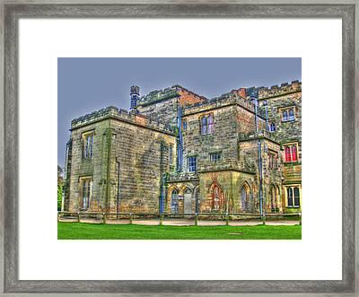 Baronial Home Framed Print by Rod Jones
