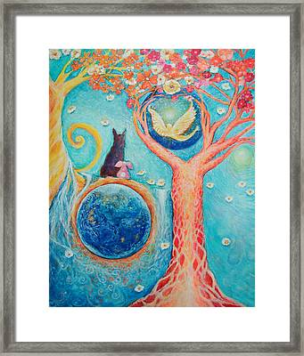 Baron's Painting Framed Print