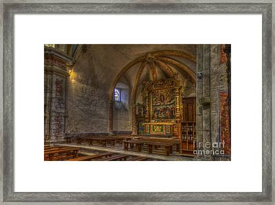 Baroque Church In Savoire France 3 Framed Print