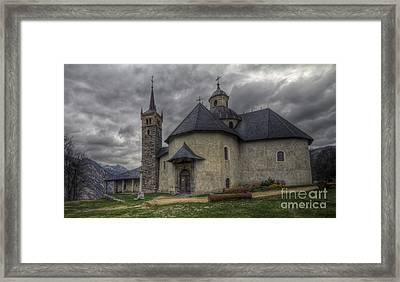 Baroque Church In Savoire France 6 Framed Print by Clare Bambers