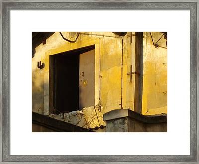 Barrack Framed Print