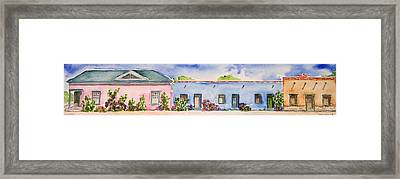 Barrio Viejo Framed Print by Regina Ammerman