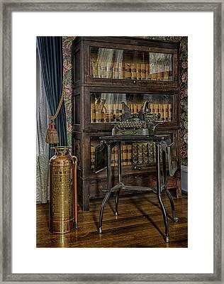 Barrister's Home Office Framed Print