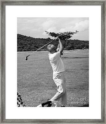 Barry Goldwater (1909-1998) Framed Print by Granger