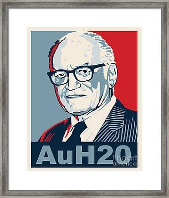 Barry Goldwater Framed Print by John L