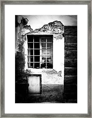 Bars Framed Print by Maurizio Pichi