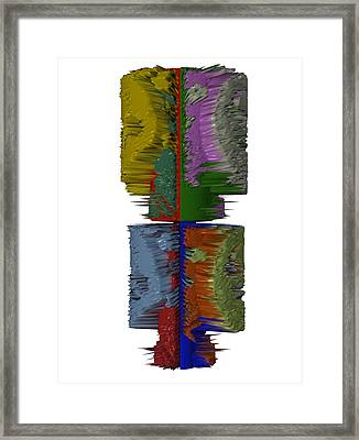 Bart Simpson's Spine Framed Print