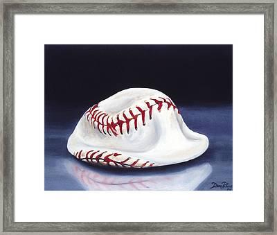 Baseball '04 Framed Print by Redlime Art