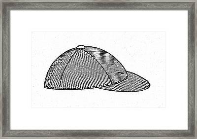Baseball Cap, C1900 Framed Print by Granger