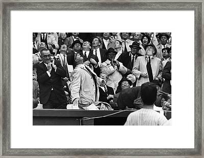 Baseball Crowd, 1962 Framed Print by Granger