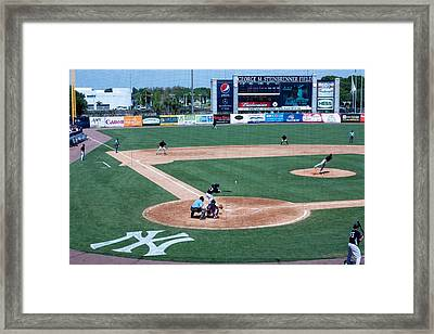 Baseball Dreams Framed Print by Michael Albright
