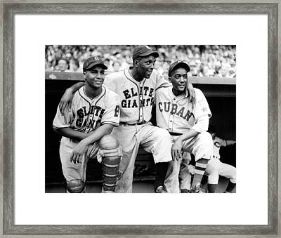 Baseball, L, Catcher, Roy Campanella Framed Print by Everett