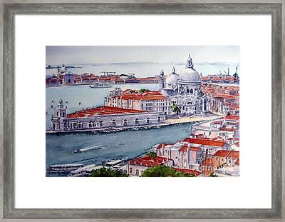 Basillica Di Santa Maria Della Salute Framed Print by Ronald Tseng