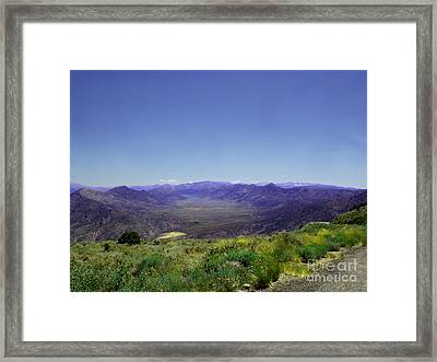 Basin - Canyon 9000 Feet   Framed Print