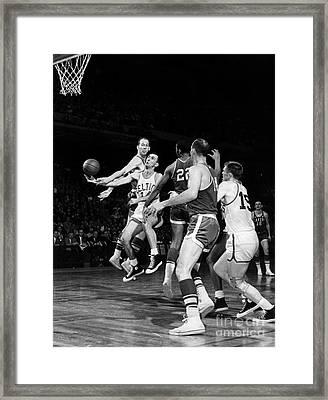 Basketball Game, C1960 Framed Print by Granger