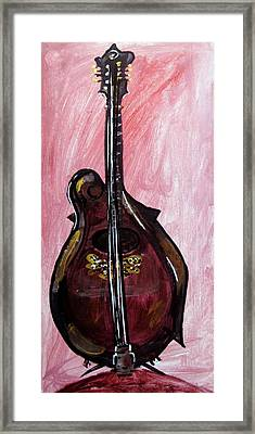 Bass Framed Print by Amanda Dinan